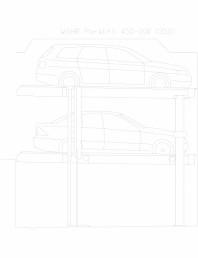 Sistem mecanic de parcare auto 200 (350)