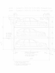 Sistem mecanic de parcare auto 2,0 (175-325) compact WÖHR - COMBILIFT 543
