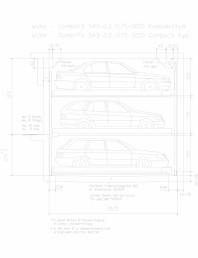 Sistem mecanic de parcare auto 2,0 (175-325) compact