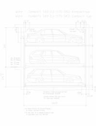 Sistem mecanic de parcare auto 2,0 (175-345) compact