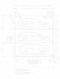 Sistem mecanic de parcare auto - 2,6 standard
