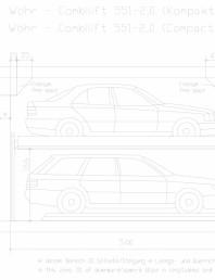 Sistem mecanic de parcare auto - 2,0 Compact