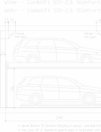 Sistem mecanic de parcare auto - 2,6 Comfort