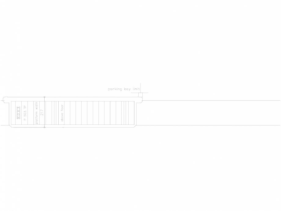 Pagina 1 - CAD-DXF Platforma de parcare - 217-TP-UEF WÖHR Detaliu de produs 503