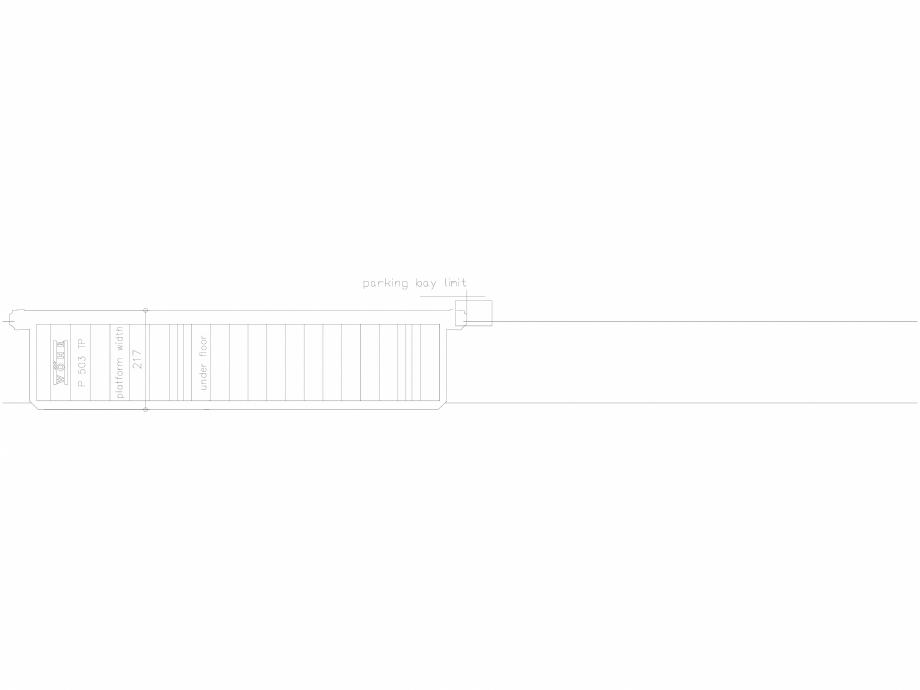 Pagina 1 - CAD-DXF Platforma de parcare - 217-TP-UF WÖHR Detaliu de produs 503