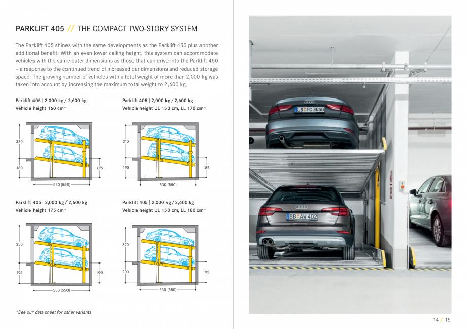 Pagina 8 - Sisteme de parcare auto WÖHR COMBILIFT 542, PARKLIFT 340, PARKLIFT 402, PARKLIFT 403...