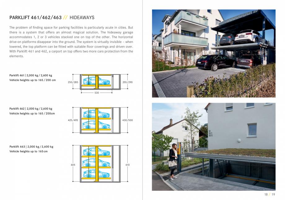 Pagina 10 - Sisteme de parcare auto WÖHR COMBILIFT 542, PARKLIFT 340, PARKLIFT 402, PARKLIFT...