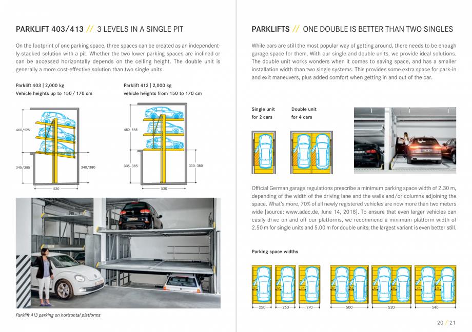 Pagina 11 - Sisteme de parcare auto WÖHR COMBILIFT 542, PARKLIFT 340, PARKLIFT 402, PARKLIFT...
