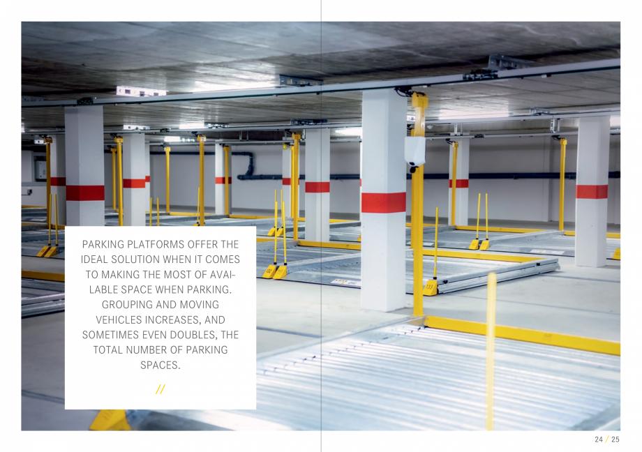 Pagina 13 - Sisteme de parcare auto WÖHR COMBILIFT 542, PARKLIFT 340, PARKLIFT 402, PARKLIFT...