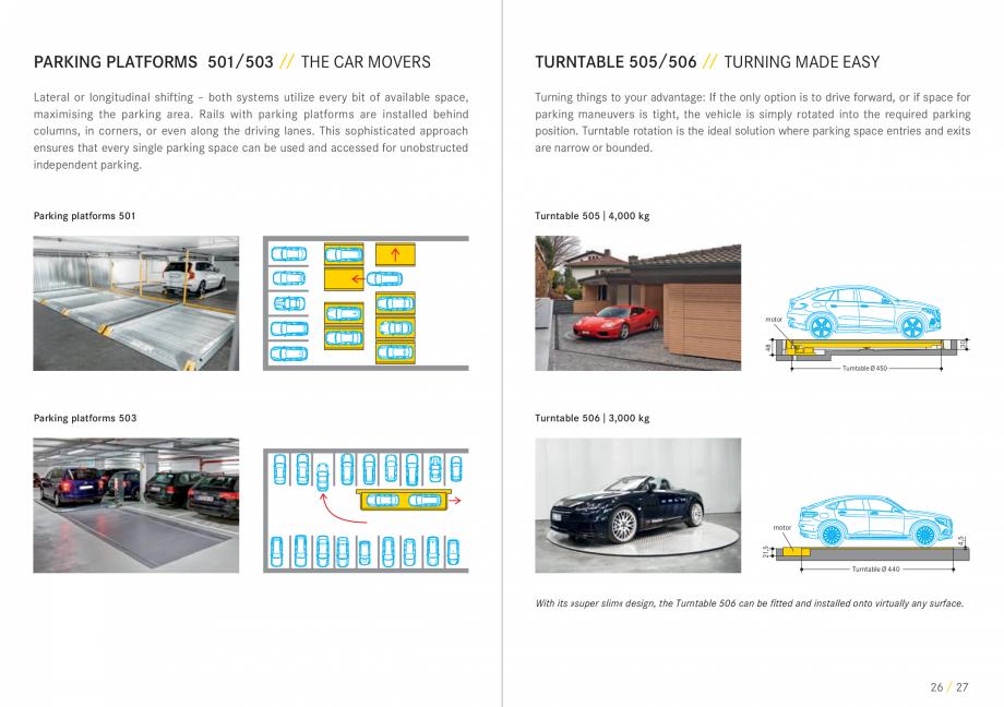 Pagina 14 - Sisteme de parcare auto WÖHR COMBILIFT 542, PARKLIFT 340, PARKLIFT 402, PARKLIFT...