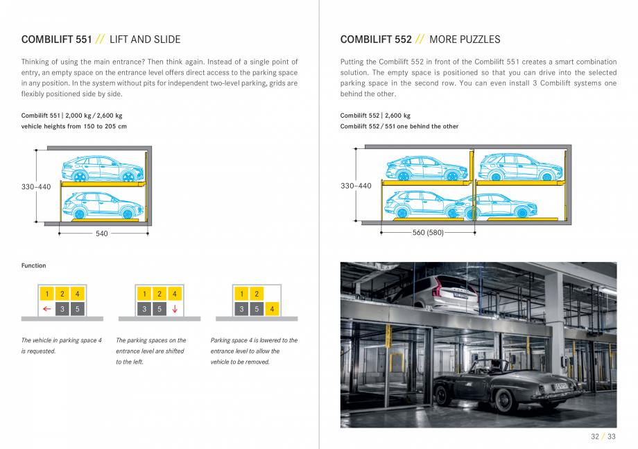 Pagina 17 - Sisteme de parcare auto WÖHR COMBILIFT 542, PARKLIFT 340, PARKLIFT 402, PARKLIFT...