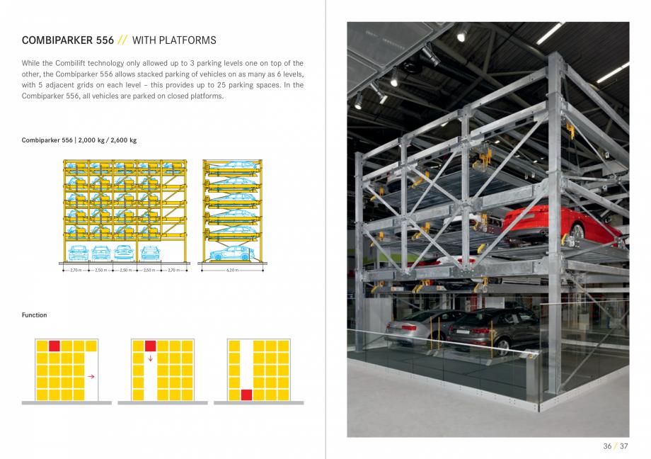Pagina 19 - Sisteme de parcare auto WÖHR COMBILIFT 542, PARKLIFT 340, PARKLIFT 402, PARKLIFT...