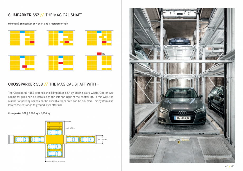 Pagina 21 - Sisteme de parcare auto WÖHR COMBILIFT 542, PARKLIFT 340, PARKLIFT 402, PARKLIFT...
