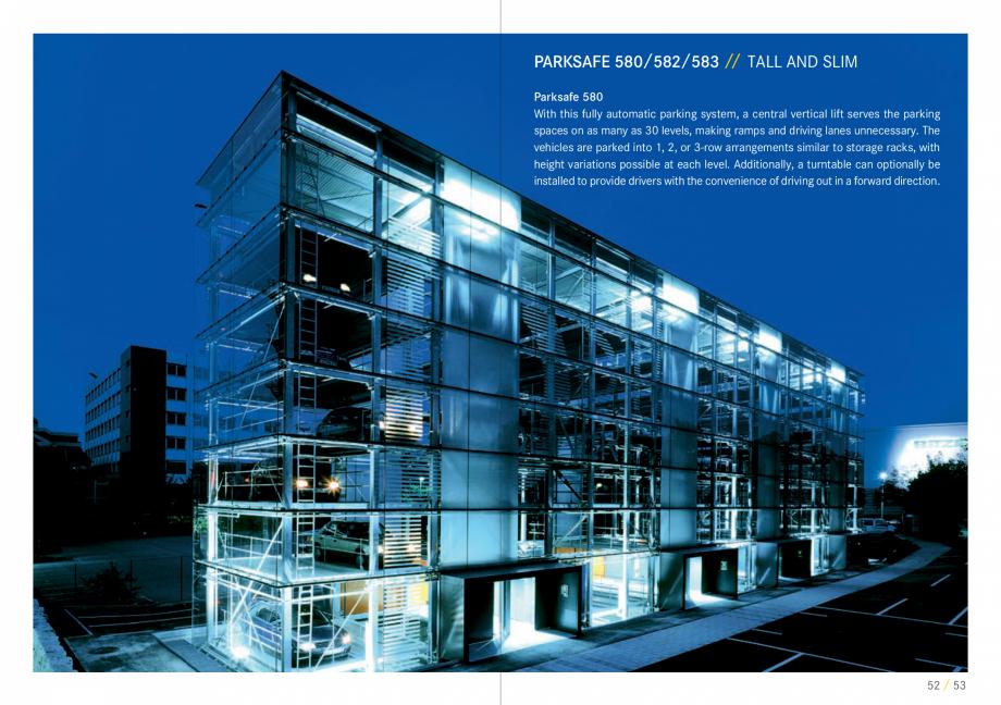 Pagina 27 - Sisteme de parcare auto WÖHR COMBILIFT 542, PARKLIFT 340, PARKLIFT 402, PARKLIFT...