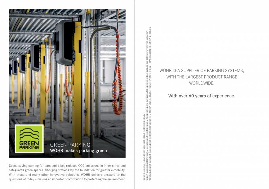 Pagina 40 - Sisteme de parcare auto WÖHR COMBILIFT 542, PARKLIFT 340, PARKLIFT 402, PARKLIFT...