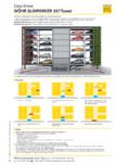 Sisteme de parcare semiautomate 557 tower WÖHR - CROSSPARKER