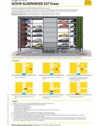 Sisteme de parcare semiautomate 557 tower