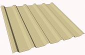 Tabla cutata pentru acoperis TR106R (profil pentru acoperis si planseu intermediar), acest  profil inalt de la Coil Profil este special proiectat pentru acoperisuri cu distante mari intre elementele de rezemare si pentru planseele intermediare.