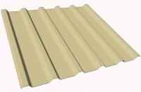 Tabla cutata pentru acoperis COILPROFIL