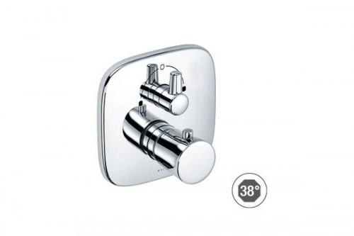 Baterie termostatata cada-dus, incastrata - 538300575 KLUDI - Poza 7