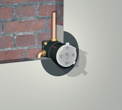 Sistem flexibil pentru baterii incastrate KLUDI - Poza 2