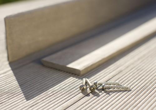 Montaj pardoseli cu deck-uri din material compozit lemn cu PVC DECEUNINCK - Poza 15