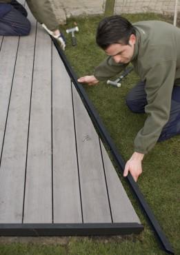 Montaj pardoseli cu deck-uri din material compozit lemn cu PVC DECEUNINCK - Poza 34