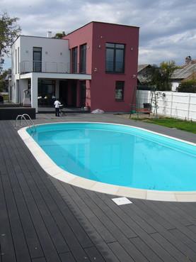 Exemple de utilizare Pardoseli din material compozit lemn cu PVC, pentru terase, platforme si DECK DECEUNINCK - Poza 35