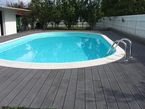 Exemple de utilizare Pardoseli din material compozit lemn cu PVC, pentru terase, platforme si DECK DECEUNINCK - Poza 36