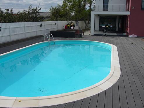 Pardoseli din material compozit lemn cu PVC, pentru terase, platforme si DECK DECEUNINCK - Poza 38