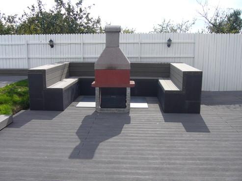 Pardoseli din material compozit lemn cu PVC, pentru terase, platforme si DECK DECEUNINCK - Poza 40