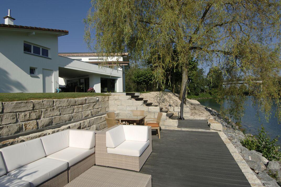 Profile din material compozit din lemn cu PVC, pentru terase, platforme si DECK DECEUNINCK - Poza 41
