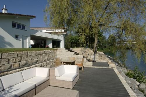 Exemple de utilizare Profile din material compozit din lemn cu PVC, pentru terase, platforme si DECK DECEUNINCK - Poza 41