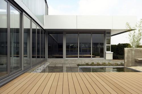 Profile din material compozit din lemn cu PVC, pentru terase, platforme si DECK DECEUNINCK - Poza 47