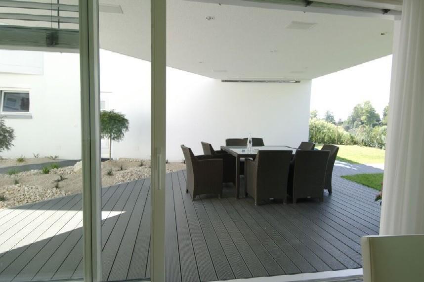 Profile din material compozit din lemn cu PVC, pentru terase, platforme si DECK DECEUNINCK - Poza 45