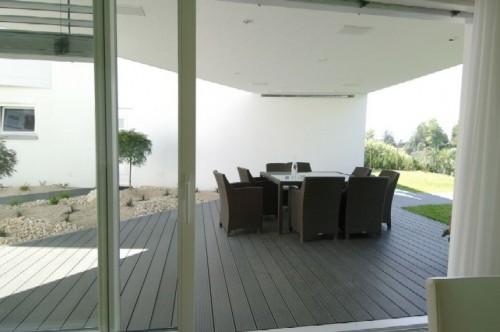 Exemple de utilizare Profile din material compozit din lemn cu PVC, pentru terase, platforme si DECK DECEUNINCK - Poza 45