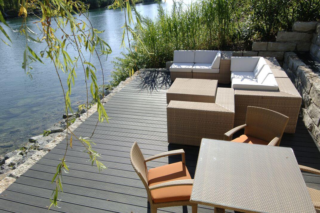 Profile din material compozit din lemn cu PVC, pentru terase, platforme si DECK DECEUNINCK - Poza 42