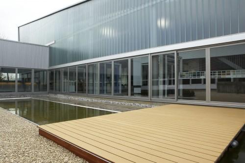 Profile din material compozit din lemn cu PVC, pentru terase, platforme si DECK DECEUNINCK - Poza 49