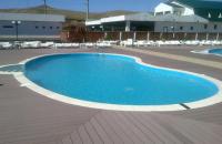 Deck din compozit WPC  Twinson TERRACE pentru terase, piscine si gradini DECEUNINCK
