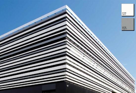 Plăci și panouri HPL pentru fațade ventilate FORMICA