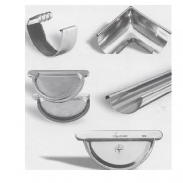 Jgheaburi, burlane, colectoare si accesorii din cupru, zinc, inox pentru sisteme pluviale ZAMBELLI - Poza 2