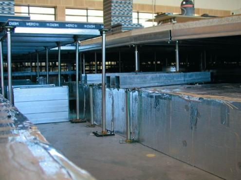 Pardoseli tehnice suprainaltate - Aeroport Kopenhagen MERO - Poza 4