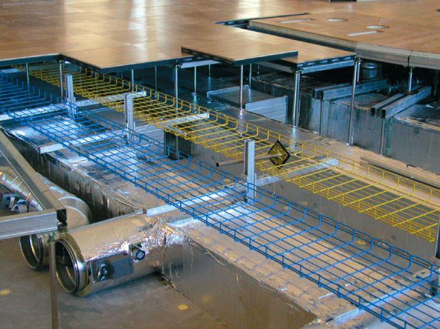 Pardoseli tehnice suprainaltate - Aeroport Kopenhagen MERO - Poza 5