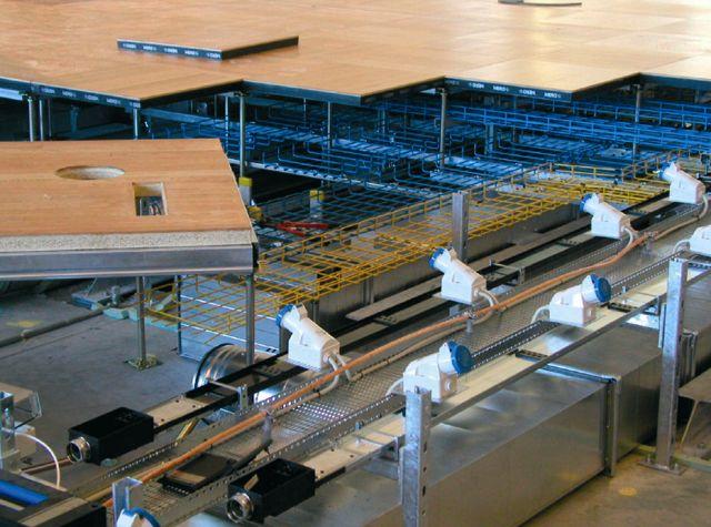 Pardoseli tehnice suprainaltate - Aeroport Kopenhagen MERO - Poza 6