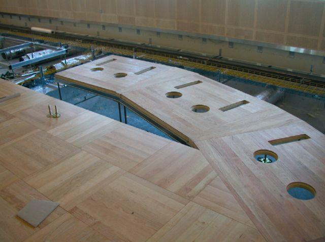 Pardoseli tehnice suprainaltate - Aeroport Kopenhagen MERO - Poza 7