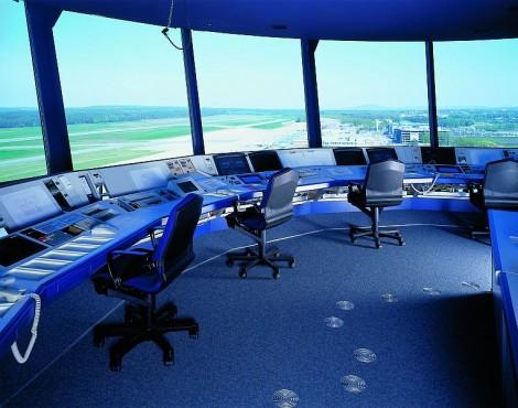 Pardoseli tehnice suprainaltate - Aeroport Nuremberg MERO - Poza 2