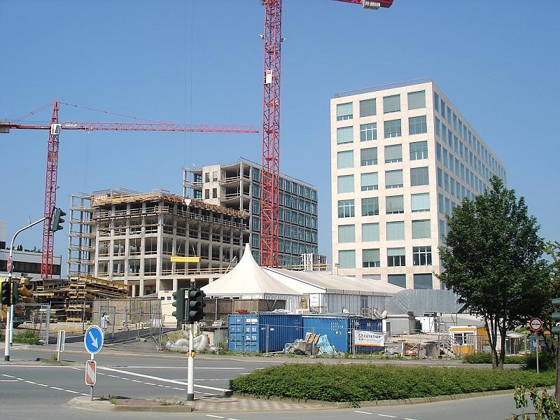 Pardoseli tehnice suprainaltate - Barmenia Wuppertal MERO - Poza 4