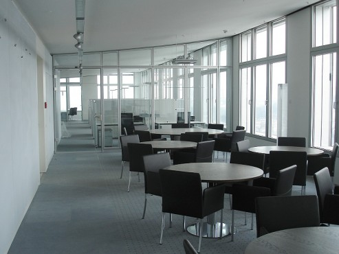 Pardoseli tehnice suprainaltate - Barmenia Wuppertal MERO - Poza 7