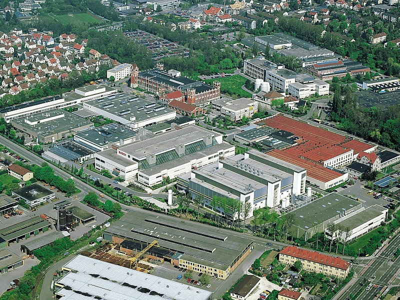 Pardoseli tehnice suprainaltate - Bosch Reutlingen MERO - Poza 5