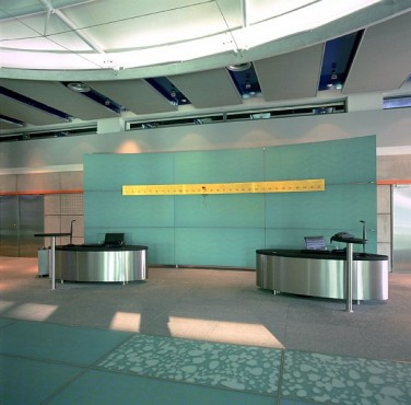 Pardoseli tehnice suprainaltate - Corporate Center Hoechst Frankfurt - Germania MERO - Poza 9
